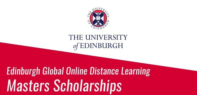 Edinburgh Global Master's Scholarship