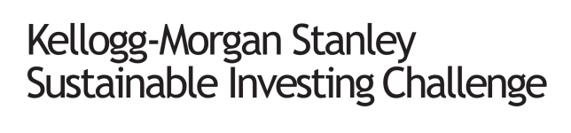 Kellogg-Morgan Stanley Sustainable Investing Challenge